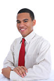 Smiling Young African American Male Portrait Stock Photo