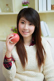 Smiling young asian woman Stock Image