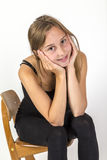 Smiling young beautiful girl Royalty Free Stock Images