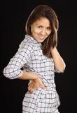 Smiling Young Beautiful Peruvian Woman Stock Image