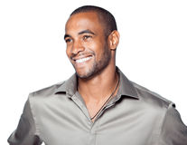 Smiling young black man Royalty Free Stock Photo