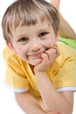 Smiling Young Boy Stock Photos