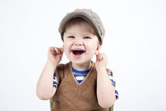 Smiling young boy Stock Images