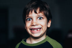 Smiling young boy royalty free stock photography