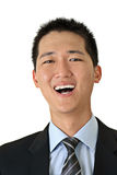 Smiling young business man Stock Image