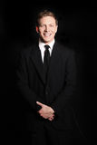 Smiling Young Business Man Royalty Free Stock Photo