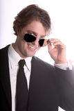 Smiling Young Business Man Stock Photography