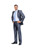 Smiling young business man, Stock Image