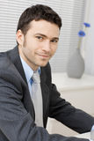 Smiling young businessman Stock Image