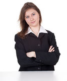 Smiling young businesswoman Royalty Free Stock Image