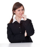 Smiling young businesswoman Royalty Free Stock Images