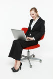 Smiling young businesswoman Stock Images