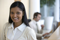 Smiling young businesswoman Royalty Free Stock Photo