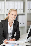 Smiling Young Businesswoman Portrait stock photo