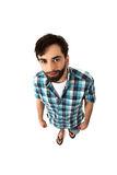Smiling young casual man. stock photography