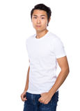 Smiling young casual man Royalty Free Stock Photography
