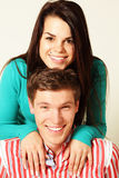 Smiling young couple Royalty Free Stock Image