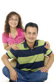 Smiling young couple Royalty Free Stock Photography