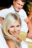Smiling young couple Stock Photography
