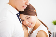 Smiling young Couple in love Royalty Free Stock Photography