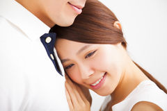 Smiling young Couple in love Royalty Free Stock Images