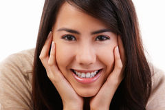 Smiling young female Royalty Free Stock Photo
