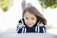 Smiling Young Girl Stock Photography