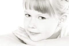 Smiling young girl royalty free stock image