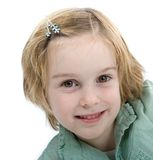 Smiling young girl Royalty Free Stock Photos