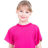 Smiling young happy girl looking at camera. Stock Image