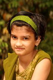 Smiling Young Indian Girl Royalty Free Stock Photo