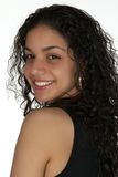 Smiling Young Latina Headshot Royalty Free Stock Photography