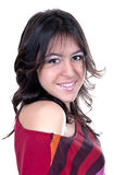 Smiling young latina isolated Stock Photo