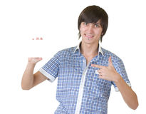 Smiling young man Royalty Free Stock Photo
