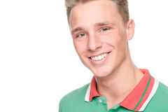 Smiling young man Royalty Free Stock Image