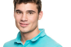 Smiling young man Stock Image