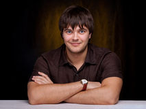 Smiling young man Stock Photography