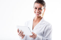 Smiling young medical professional royalty free stock image