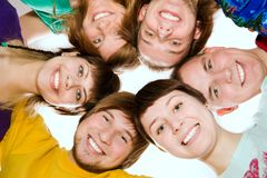 Smiling young people Royalty Free Stock Photos