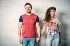 Smiling young people Royalty Free Stock Photography