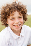 Smiling young pretty boy posing Royalty Free Stock Photos