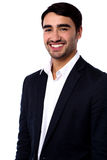 Smiling young successful businessman Royalty Free Stock Images