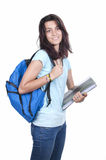 Smiling Young Teenager High School Student Stock Photos
