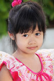Smiling young Thai girl Royalty Free Stock Photography