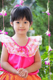 Smiling young Thai girl Royalty Free Stock Images