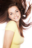 Smiling young woman Stock Image