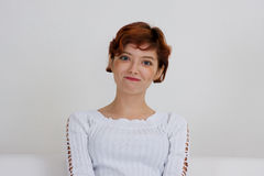 Smiling young woman Royalty Free Stock Photo