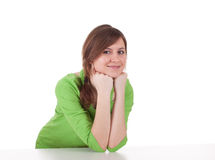 Smiling young woman Royalty Free Stock Images