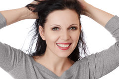 Smiling young woman Stock Photography