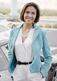 Smiling young woman Royalty Free Stock Image